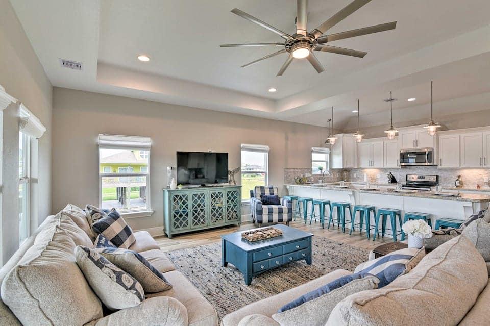 Image of beachfront rental in Texas