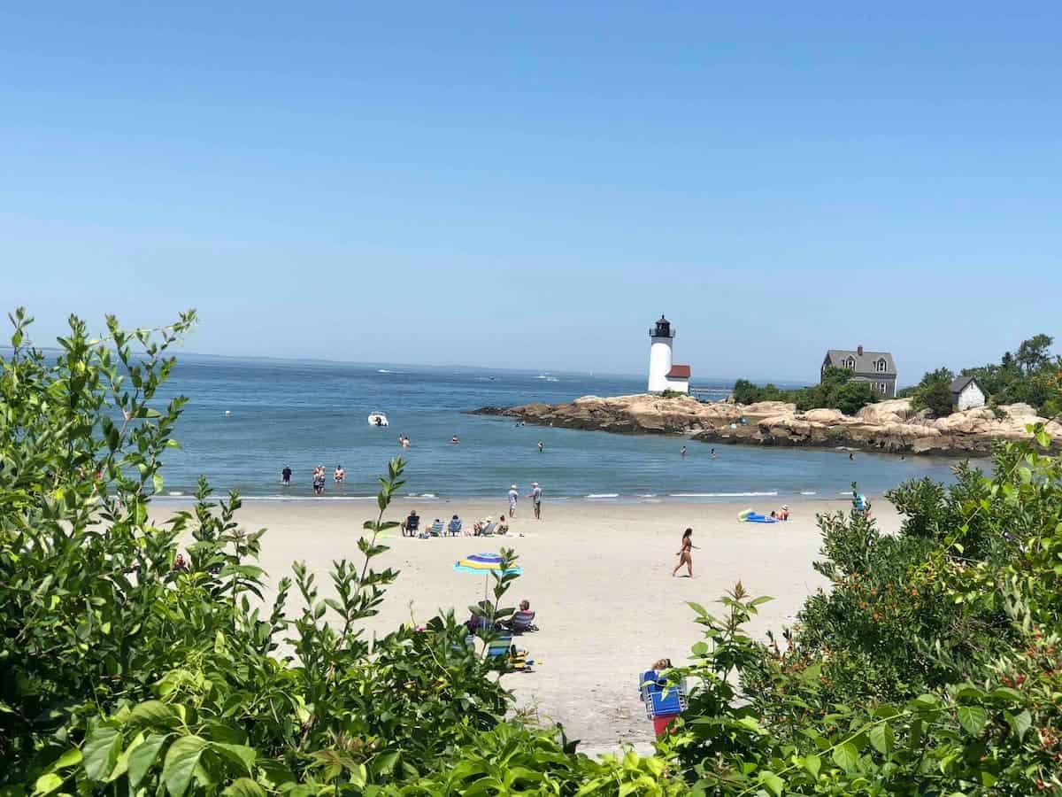 Image of beachfront rental in Massachusetts