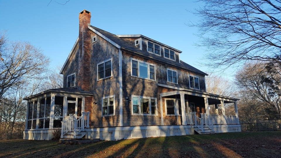 Image of beachfront rental in Rhode Island