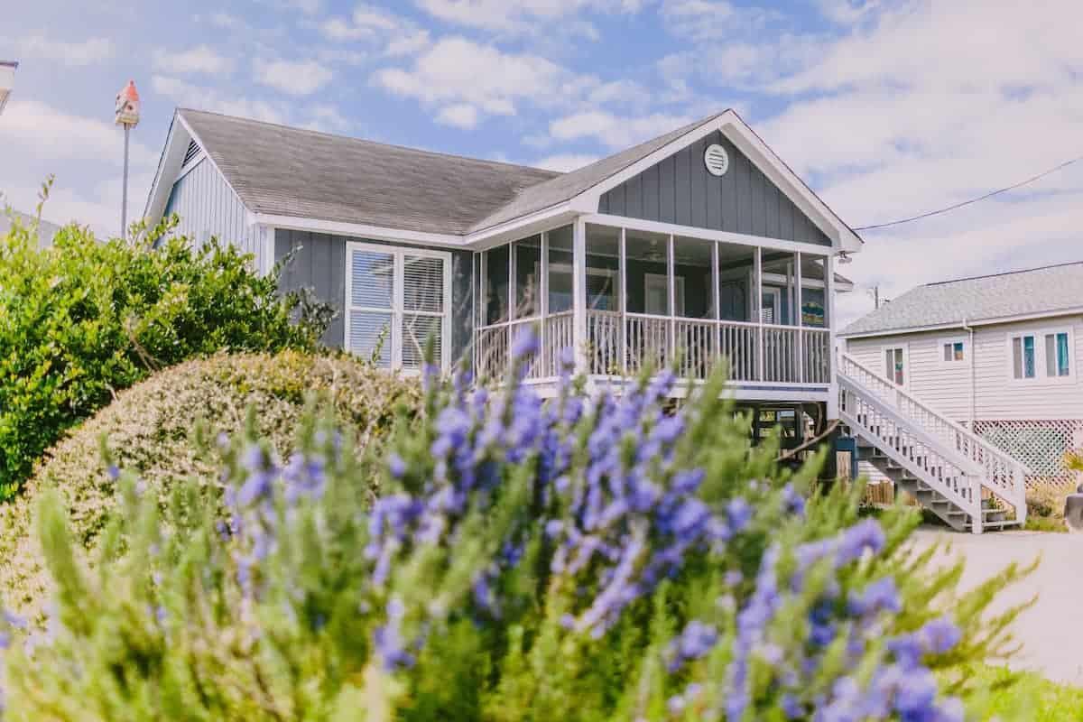 Image of beachfront rental in South Carolina