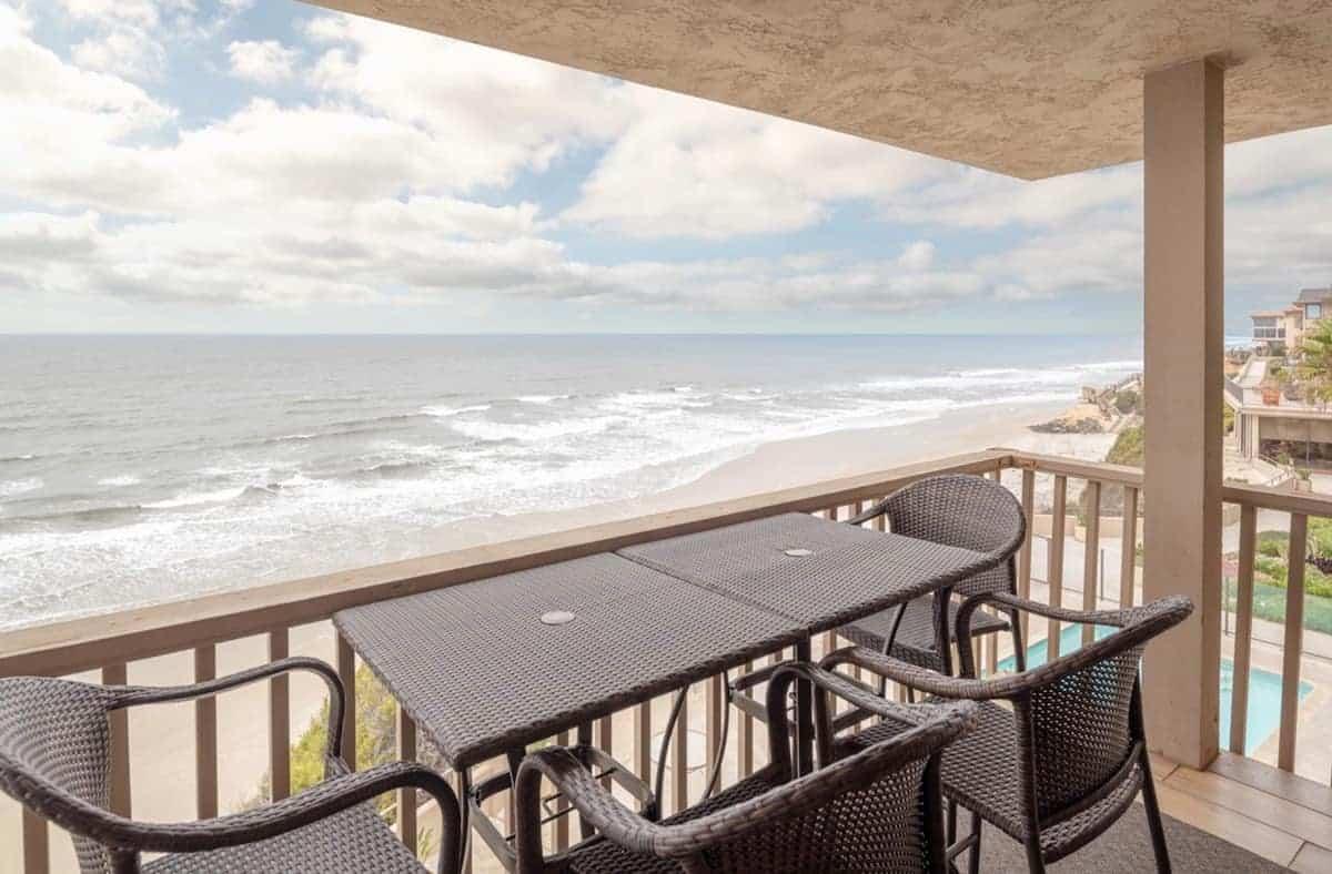 Image of beachfront rental in California