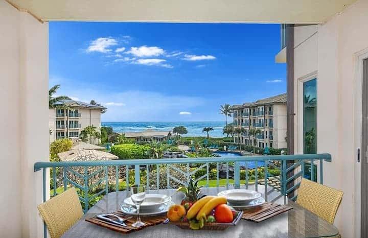Image of beachfront rental in Kauai